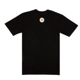 black emotional. text logo SS tee