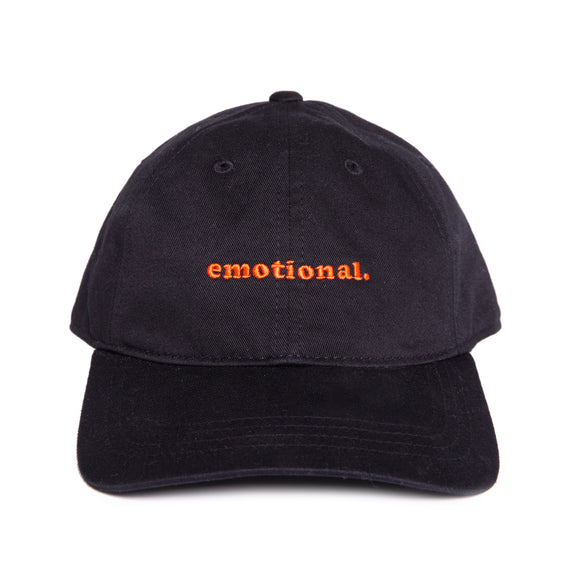 emotional. dad hat