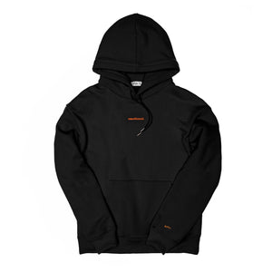 c&s micro emotional. logo black hoodie