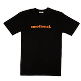 emotional. SS black tee