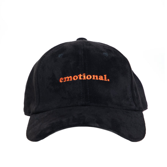 emotional. suede hat