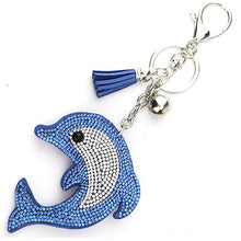 Load image into Gallery viewer, Rhinestone Crystal Keychain