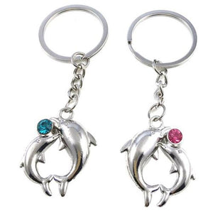 Dolphin Alloy Key Chain