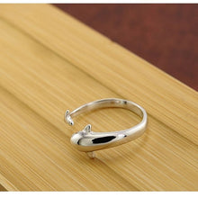 Load image into Gallery viewer, High Quality Adjustable Dolphin Ring