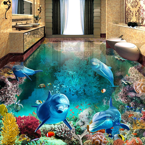 Underwater Mural Wallpaper