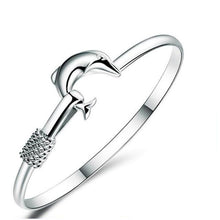 Load image into Gallery viewer, Dolphin Love Bangle