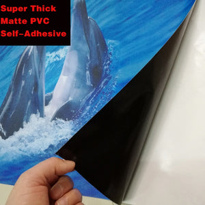 Non-slip Waterproof Underwater Dolphin Sticker