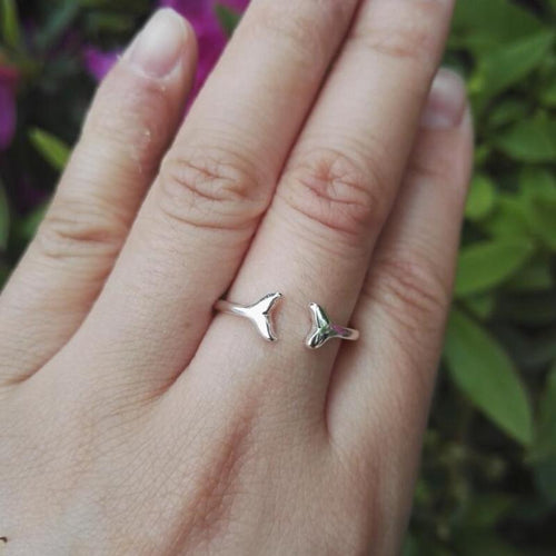 Boho Leaping Dolphin Ring