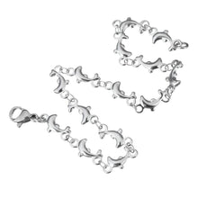 Load image into Gallery viewer, Dolphin Chain Stainless Steel Bracelet