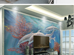 Custom Three Dimension Non-Woven Wallpaper
