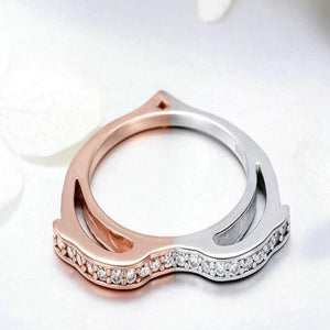 Heart Shape Dolphin Finger Ring