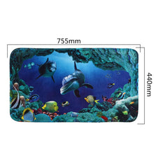 Load image into Gallery viewer, Dolphin Bathroom Toilet Mat