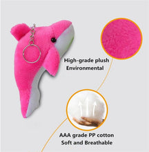 Load image into Gallery viewer, Dolphin Plush Doll Key Chain