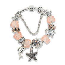 Load image into Gallery viewer, Starfish Dolphin Bead Bracelet
