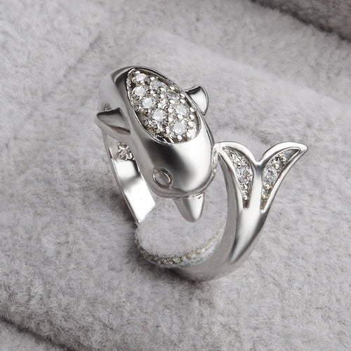 Top Quality Dolphin Opening Ring
