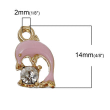 Load image into Gallery viewer, Rhinestone Charm Pendant