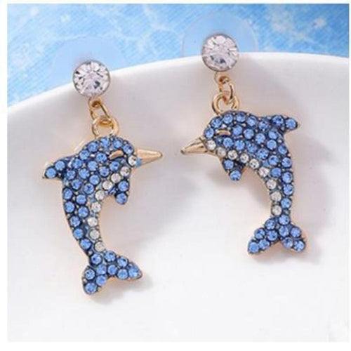 Rhinestones Statement Earrings