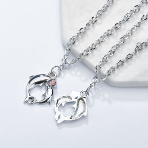 Couple Double Dolphin Bracelet