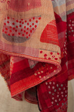 Load image into Gallery viewer, Létol scarf - Marie-Noëlle coral