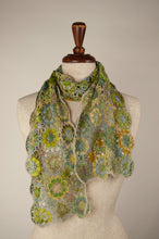 Load image into Gallery viewer, Sophie Digard scarf - Spring linen flowers