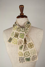 Load image into Gallery viewer, Sophie Digard scarf - Ecru patchwork