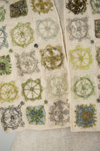 Load image into Gallery viewer, Sophie Digard scarf - Ecru Weeds