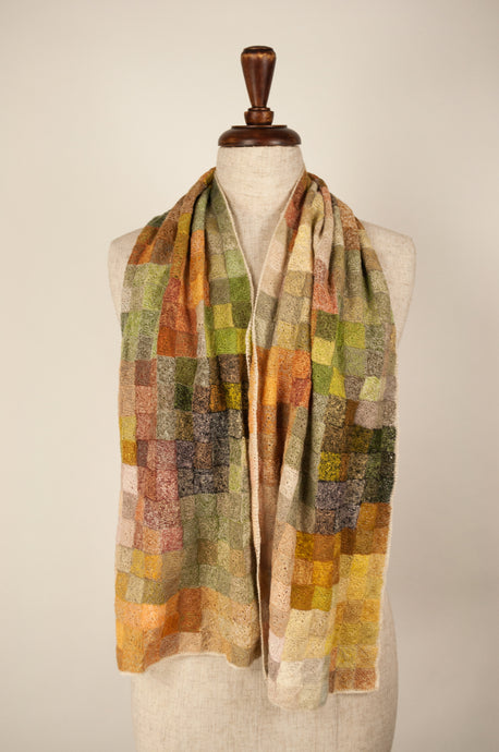 Sophie Digard scarf - Linen palette