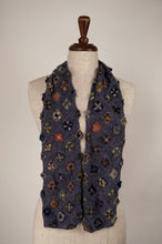 Load image into Gallery viewer, Sophie Digard scarf - Denim patchwork