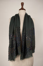 Load image into Gallery viewer, Sophie Digard scarf - Appliqued wool