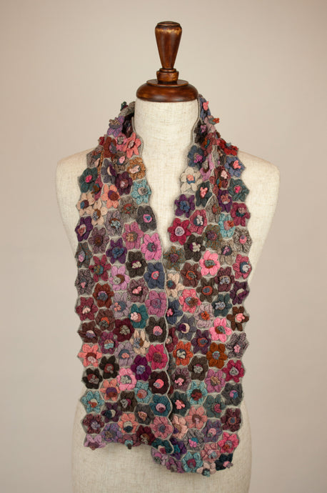 Sophie Digard scarf - Roses