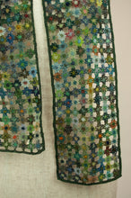Load image into Gallery viewer, Sophie Digard scarf - Lattice flowers
