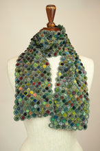 Load image into Gallery viewer, Sophie Digard scarf - Concentrique Velours Minus