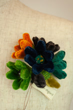 Load image into Gallery viewer, Sophie Digard brooch - velvet jonquille