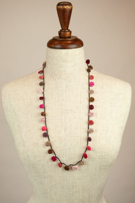 Sophie Digard necklace - velvet dots