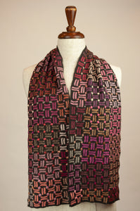 Sophie Digard scarf - dots and dashes