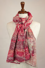 Load image into Gallery viewer, Létol scarf - Nemo rose tyrien