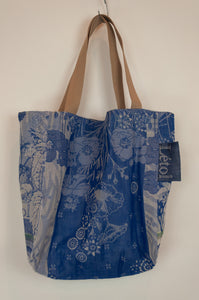 Létol bag - Turquoise and blue (medium)