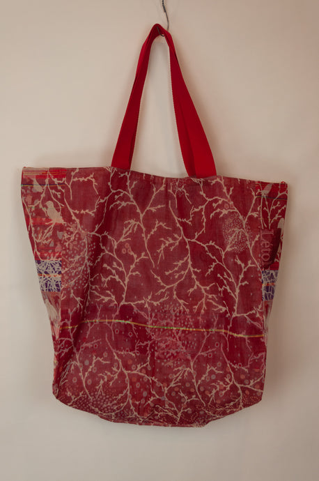 Létol bag - Red birds (large)