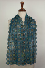 Load image into Gallery viewer, Sophie Digard scarf - Pivoine