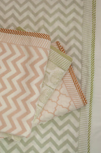 Soft cotton muslin layered single bed quilt summer blankets.