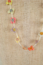 Load image into Gallery viewer, Sophie Digard necklace - Linen flowers
