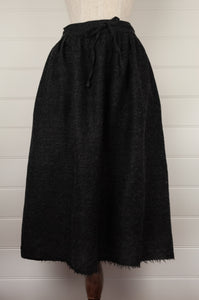 Dve Isha skirt - charcoal wool