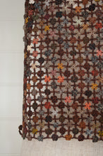Load image into Gallery viewer, Sophie Digard crocheted wool scarf, Way of Life in the Earth palette of browns.