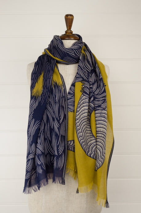 Inouitoosh scarf - Yako yellow