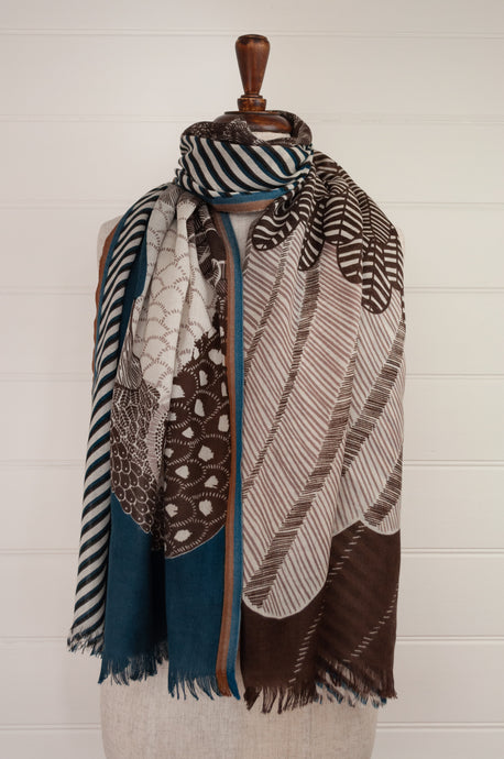 Inouitoosh scarf - Aquila duck blue