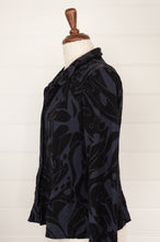 Load image into Gallery viewer, Valia collar jacket - black
