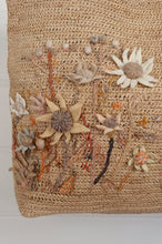 Load image into Gallery viewer, Sophie Digard raffia bag - Flannel flowers