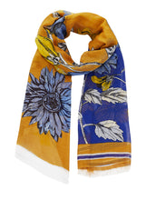 Load image into Gallery viewer, Inouitoosh scarf - Avril yellow
