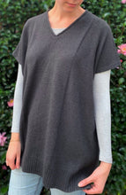 Load image into Gallery viewer, Baby yak Mila tunic - charcoal
