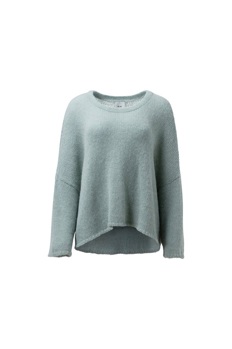 Elk Agna loose fit sweater in mint green.